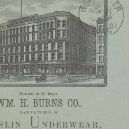 Wm. H. Burns Co.. Envelope