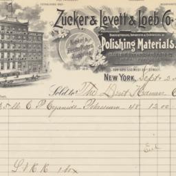 Zucker & Levett & Loeb Co.....