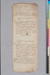Drafts of loan records, many pertaining to Jews