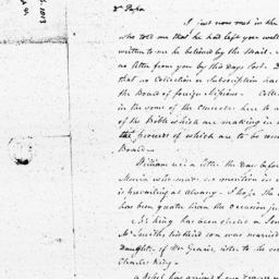 Document, 1813 February 05