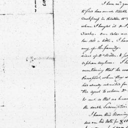 Document, 1813 January 22