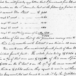 Document, 1810 March 22