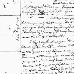Document, 1779 July 7