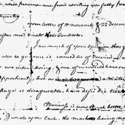 Document, 1770 January 23