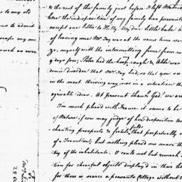 Document, 1782 August 28