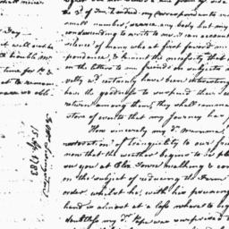 Document, 1783 April 15