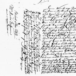 Document, 1743 November 09