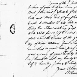 Document, 1739 April 23