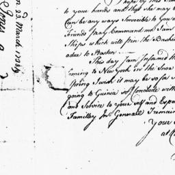 Document, 1738 March 23