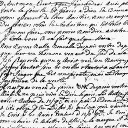 Document, 1725 June 05