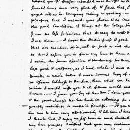 Document, 1763 October 27