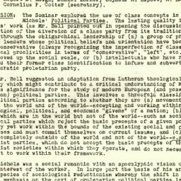 Minutes, 1953-02-18. The St...