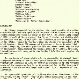 Minutes, 1952-12-03. The St...