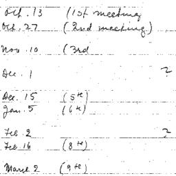 Schedules, The State, semin...