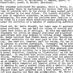 Minutes, 1958-11-20. The St...
