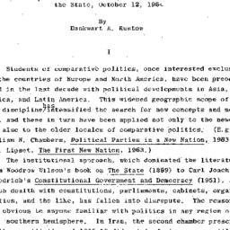 Handouts, 1964-10-12. The S...