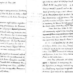 Document, 1781 June 25