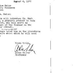 Correspondence, 1981-08-04....