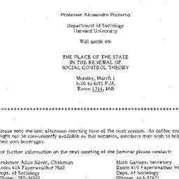 Announcements, 1982-02-14. ...