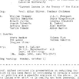 Minutes, 1981-09-22. The St...