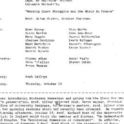 Minutes, 1981-10-13. The St...