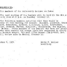 Minutes, 1954-09-28. The Pr...