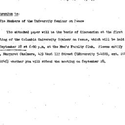 Speaker's paper, 1954-09-28...
