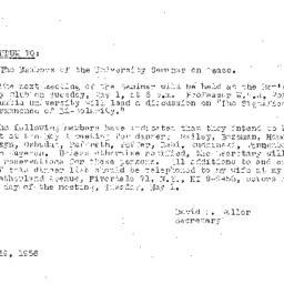 Minutes, 1956-04-17. The Pr...