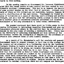 Minutes, 1960-10-18. The Pr...