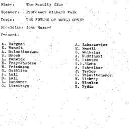 Minutes, 1972-03-21. The Pr...