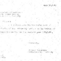 Correspondence, 1972-06-13....