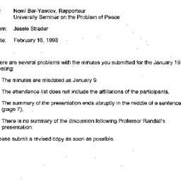 Correspondence, 1993-02-16....