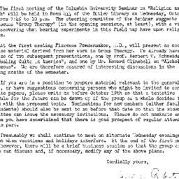 Announcements, 1949-10-05. ...