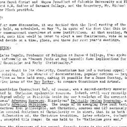 Minutes, 1973-04-09. Studie...