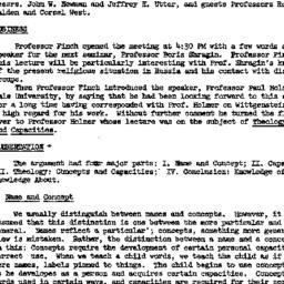 Minutes, 1978-01-09. Studie...