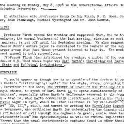 Minutes, 1978-05-08. Studie...