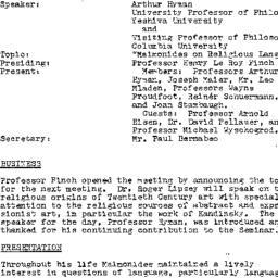 Minutes, 1979-01-08. Studie...