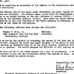 Correspondence, 1974-05-31....