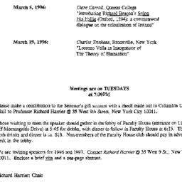 Correspondence, 1996-02-12....