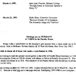 Correspondence, 1997-02-12....