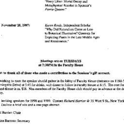 Correspondence, 1997-09-17....