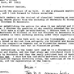 Correspondence, 1999-03-27....