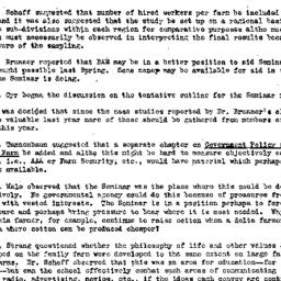 Minutes, 1947-10-09. Rural ...