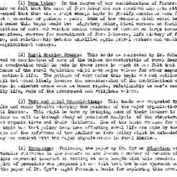 Handouts, 1952-10-01. Rural...