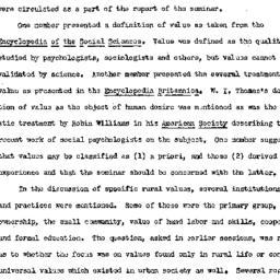 Minutes, 1952-10-29. Rural ...