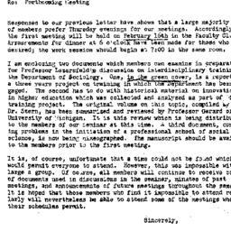 Announcements, 1956-02-03. ...