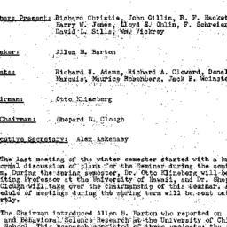 Minutes, 1958-01-06. Conten...