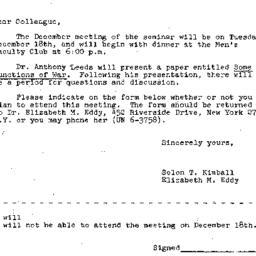 Correspondence, 1962-12-05....