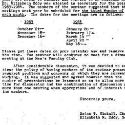 Correspondence, 1964-05-21....