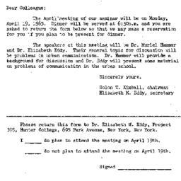 Correspondence, 1965-03-30....